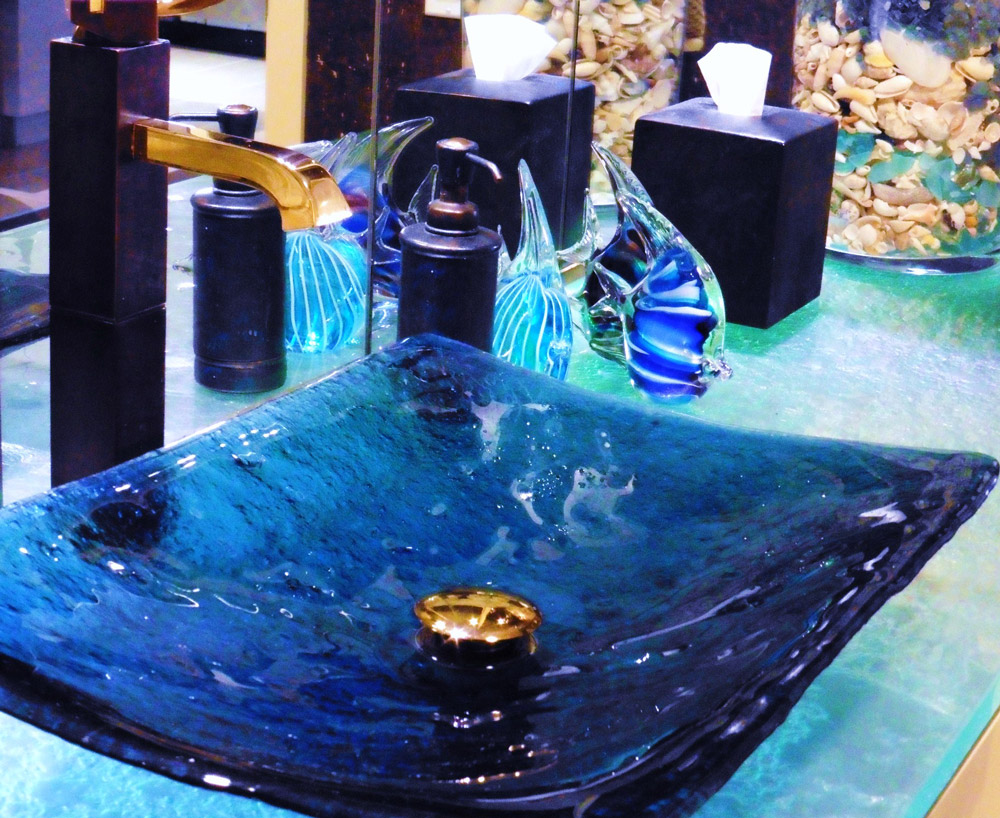 salle de bain - la profondeur du monde aquatique